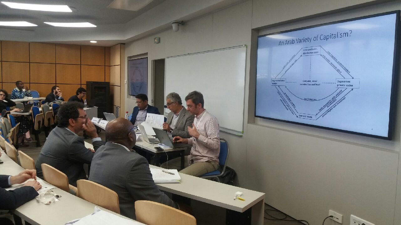 Growth in the MENA region  : three experts give their points of view at FEMISE-ERF workshop at Paris Dauphine 2