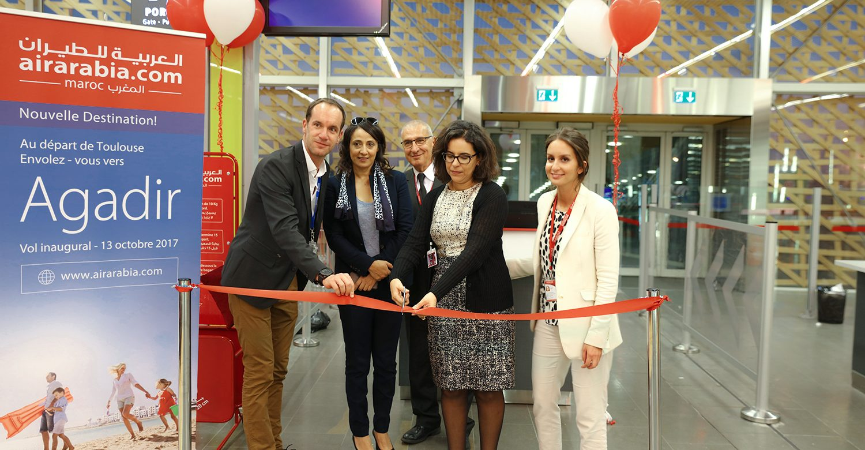 Air Arabia Maroc inaugure sa base à Agadir et lance une ligne vers Toulouse.