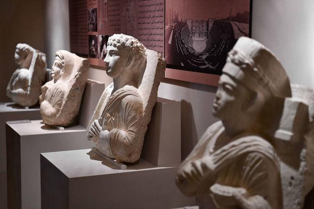 Pendant ce temps… Damas accueille une exposition archéologique