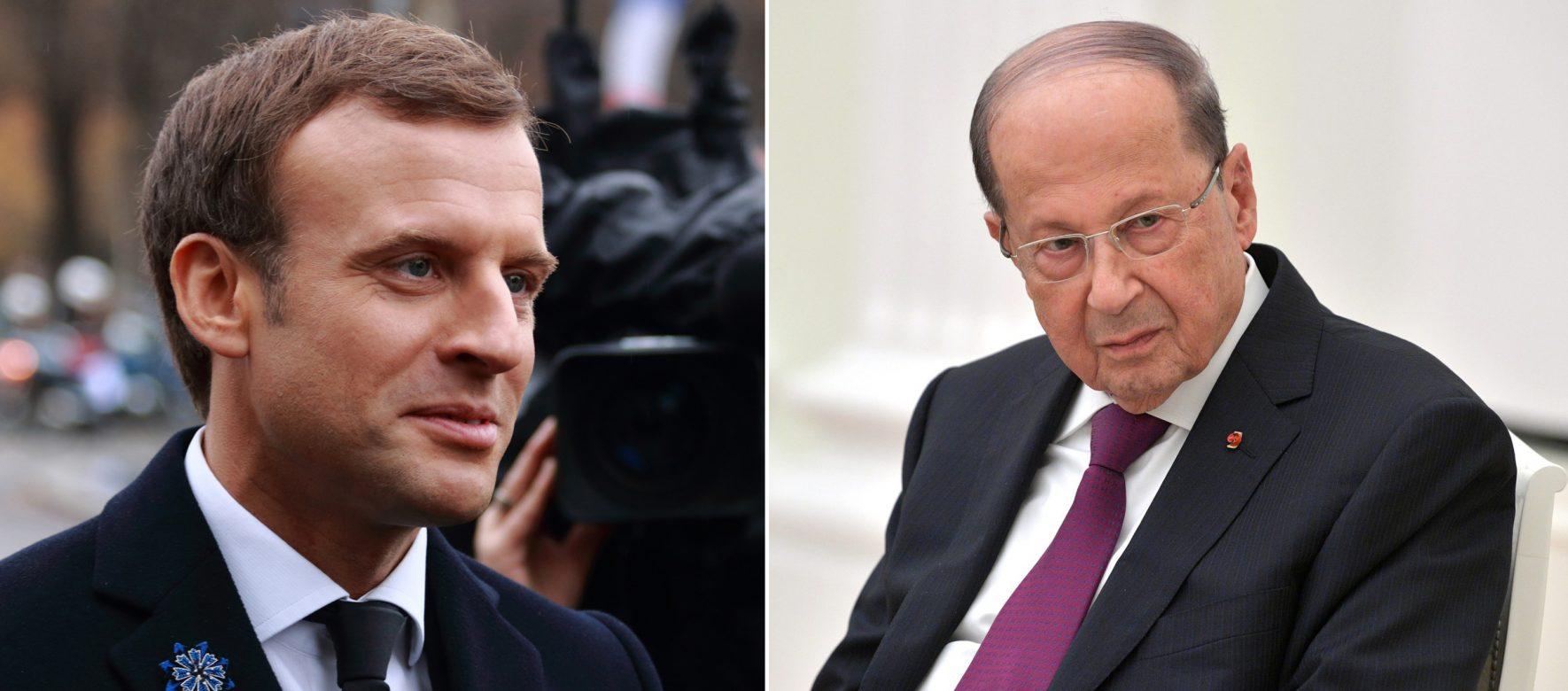 Liban : Michel Aoun a rencontré Emmanuel Macron à New York
