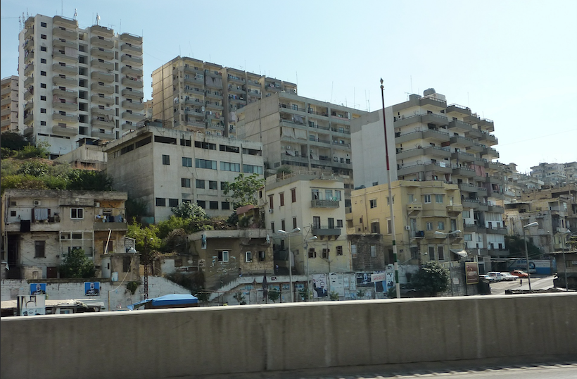 Liban : Les libanais protestent contre le barrage de Bisri