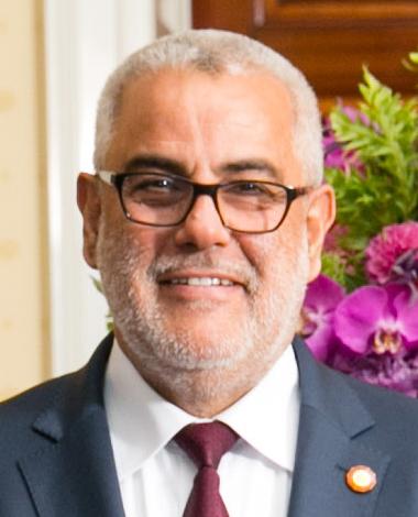 Portrait d'Abdelilah Benkirane, chef du gouvernement marocain