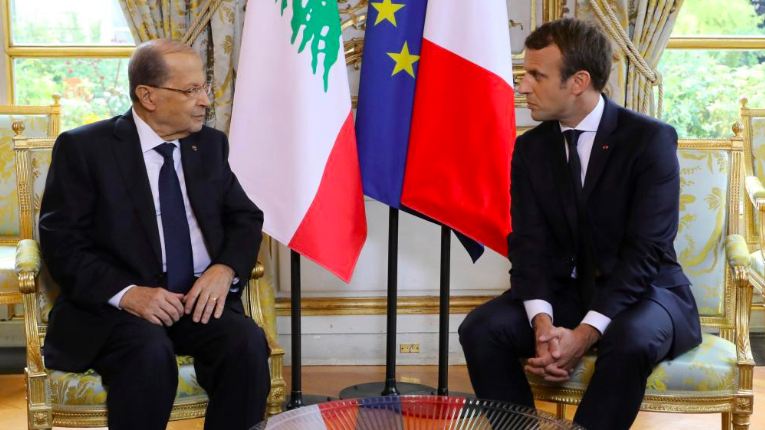 Liban : Rencontre à huis clos entre M. Aoun et E. Marcon à Erevan