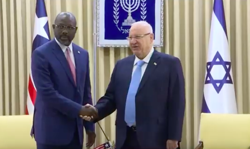 Netanyahu hosts Liberian president as a push to boost African ties 2