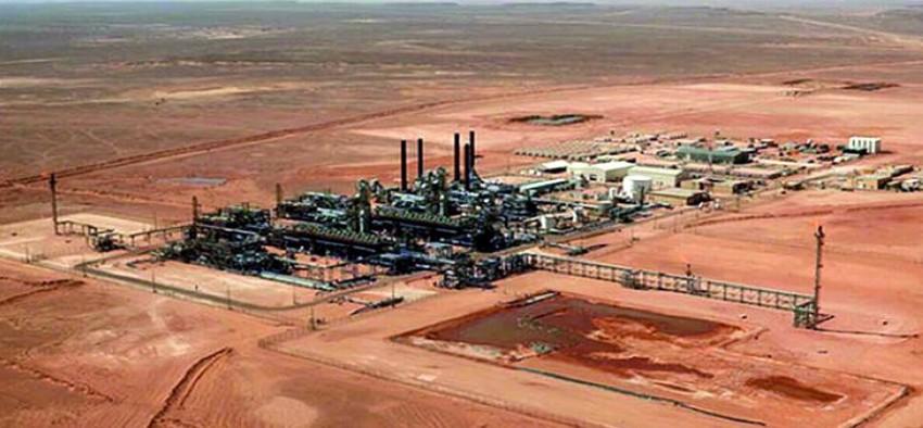 Algérie : La construction du gazoduc qui relie les champs de Bir Rebaa Nord (BRN) et de Menzel Ledjmet Est (MLE) dans le bassin de Berkine, au sud-est est achevée