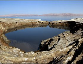 113 million dollars allocated by Israel to shoreline restoration along the Dead Sea 2