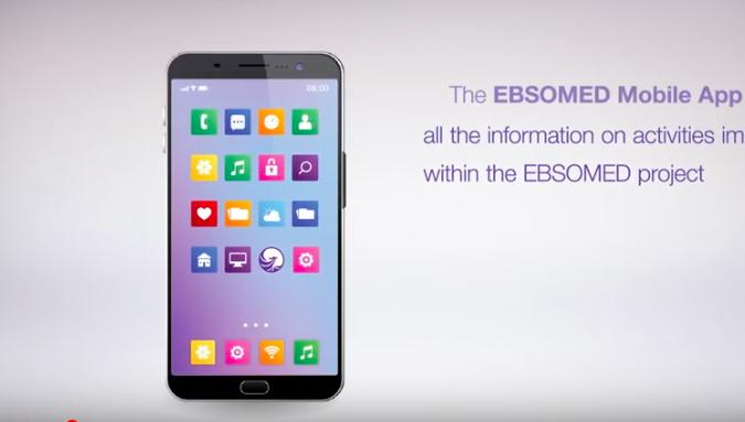 EBSOMED lance son application mobile pour aider tous les utilisateurs du Projet