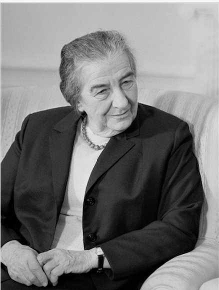 Portrait de Golda Meir