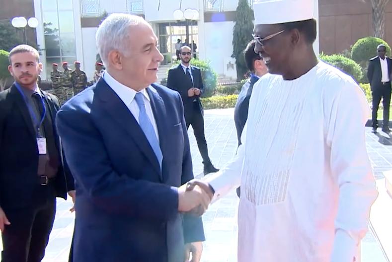 Les relations diplomatiques entre Israël et le Tchad sont désormais officielles