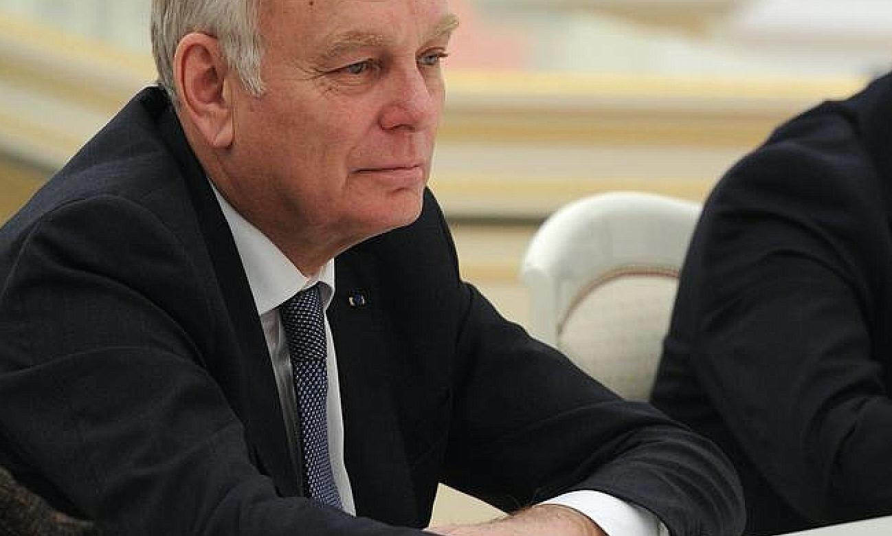 Le chef de la diplomatie française Jean-Marc Ayrault en visite au Liban