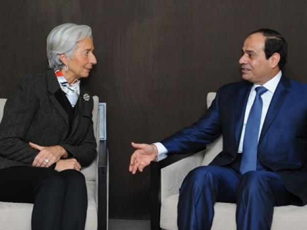 IMF's Managing Director praises Egypt's economy 1
