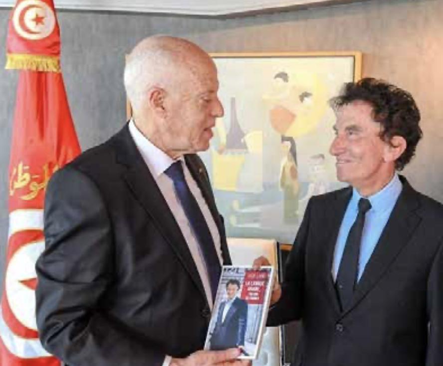 Tunisie-France : Le président de la République Kaïs Saïed reçu à l'Institut du monde arabe