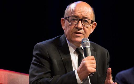 Liban : Jean-Yves Le Drian le Ministre des affaires étrangères de la France en visite officielle :