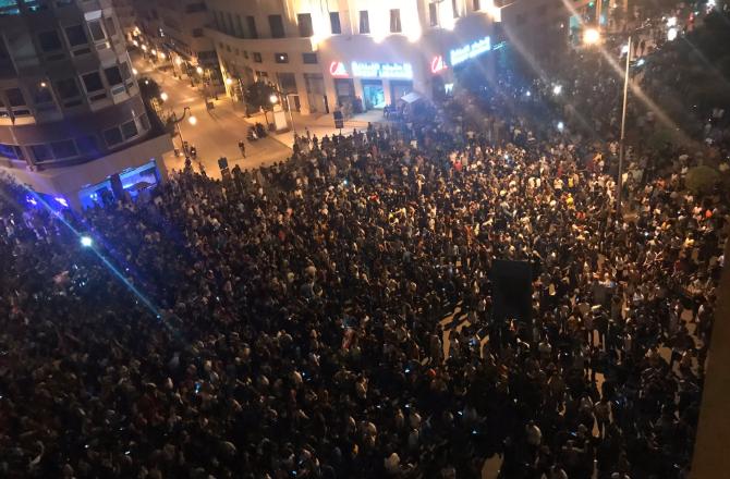 Liban : Beyrouth bloquée par les voitures des manifestants au 12ème jour du soulèvement