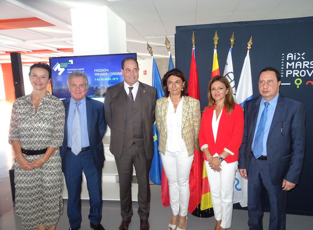 La Métropole d'Aix-Marseille-Provence renforce son partenariat économique avec le Maroc