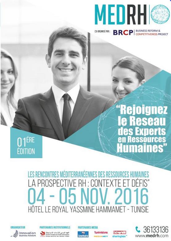 Zoom sur le salon MED RH en Tunisie en novembre