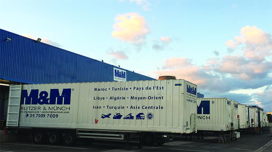 Algérie : M&M France lance une nouvelle ligne de transport en groupage vers Bejaïa depuis le port de Marseille