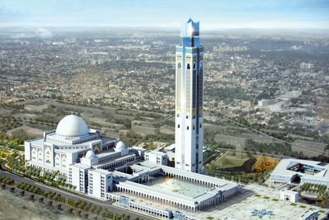 La Grande Mosquée d'Alger terminée dès cette année ?
