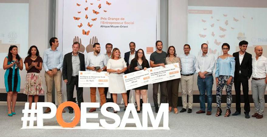 9ème Prix Orange de l'Entrepreneur Social en Tunisie : les trois lauréats sont qualifiés pour la finale en Afrique du Sud.