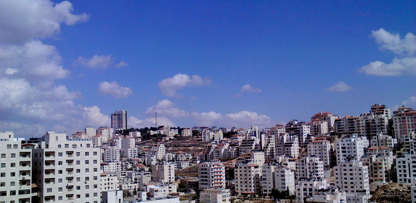 1.4 billion is the price of the last commercial centre construction in Ramallah 2