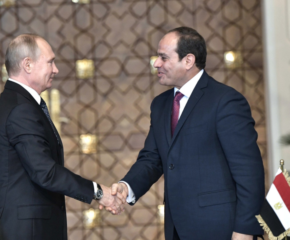 Russia and Egypt realised the highest trade exchange of their history ! 2