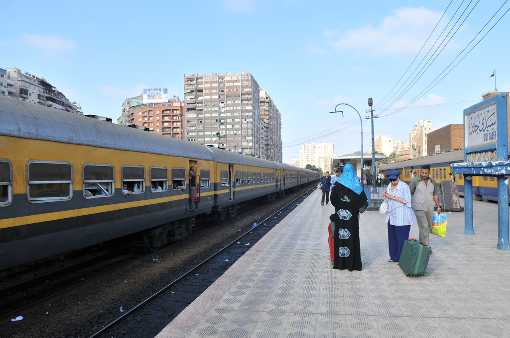 The Chinese BYD had just been chosen to build the Alexandria railway 2