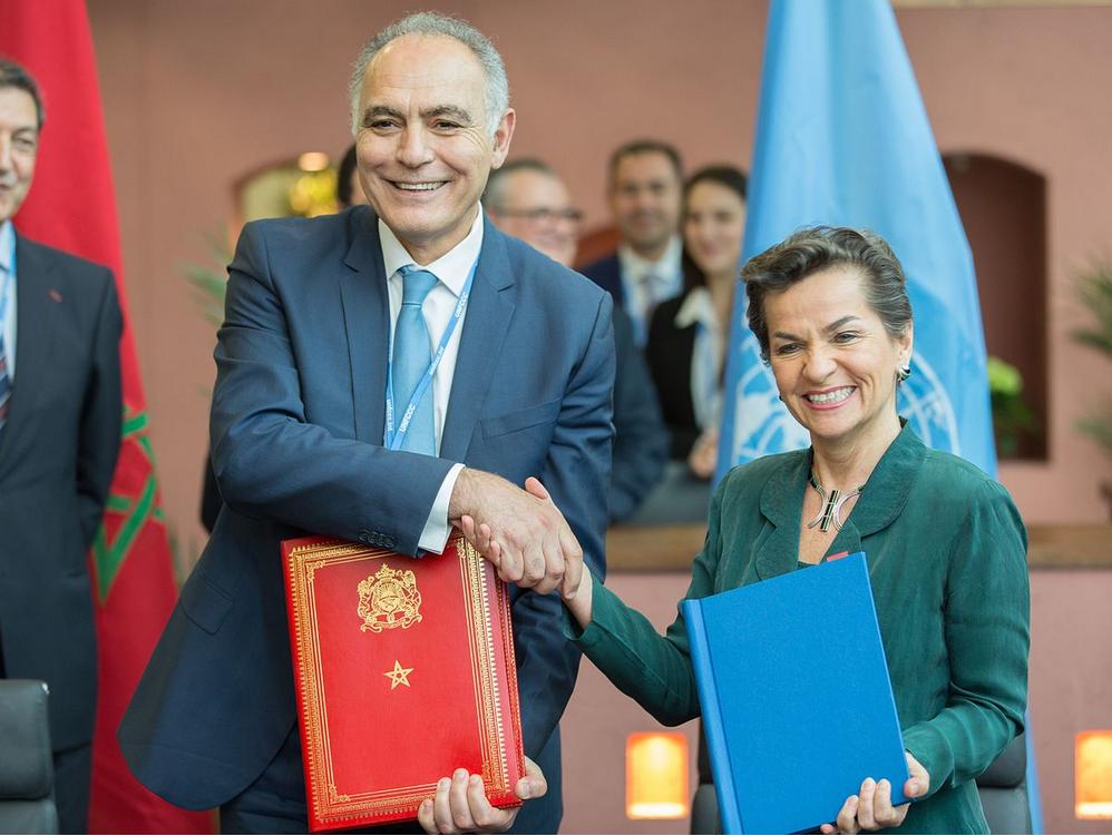 COP22 à Marrakech : Ségolène Royale a officialisé l'ouverture de la conférence des parties sur le climat