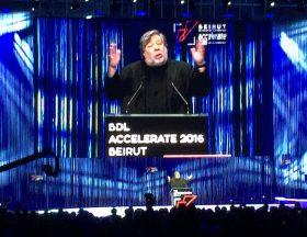 BDL Accelerate 2016 : Steve Wozniak s'est adressé aux entrepreneurs libanais
