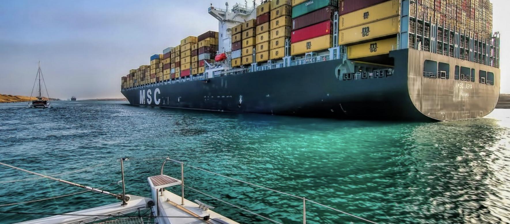 Egypte : Les revenus du Canal de Suez ont légèrement chuté à 5,72 milliards $ au cours de l'exercice 2019-2020