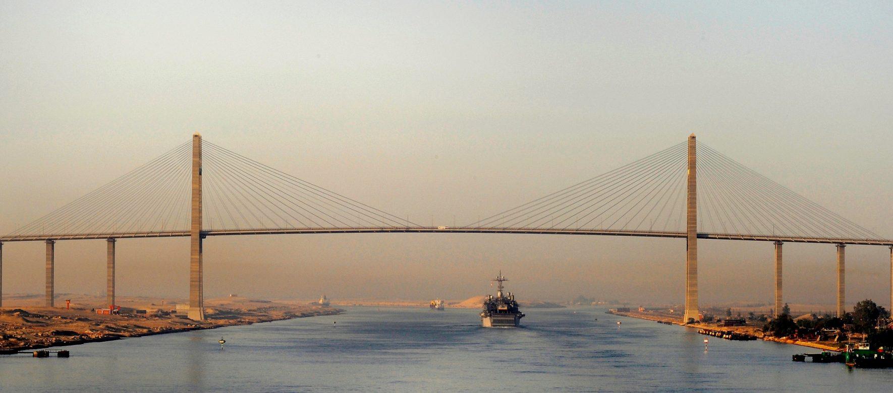 Égypte : Le canal de Suez, écologiquement viable ?