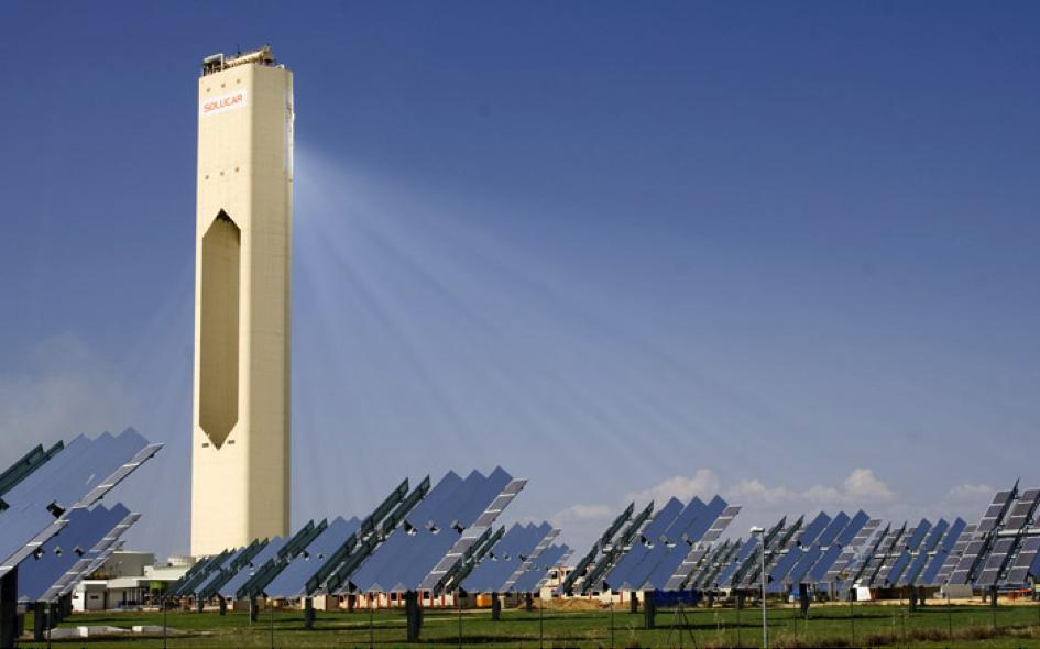 Israël compte inaugurer la plus haute tour solaire du monde cette année