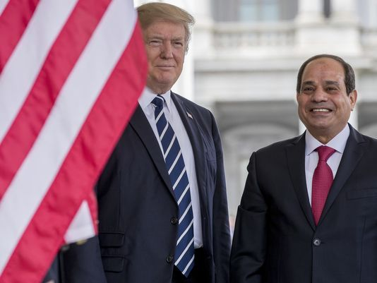 The trade between Egypt and USA worth 5, 6 billion dollars in 2017 2