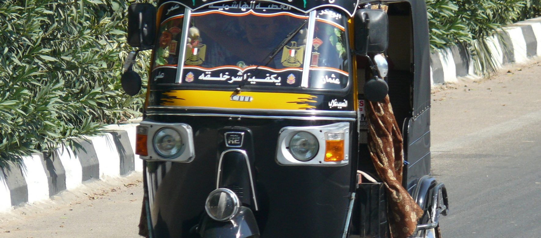 Egypt: What if Tuk-Tuk were an alternative transportation mode in Cairo? 2