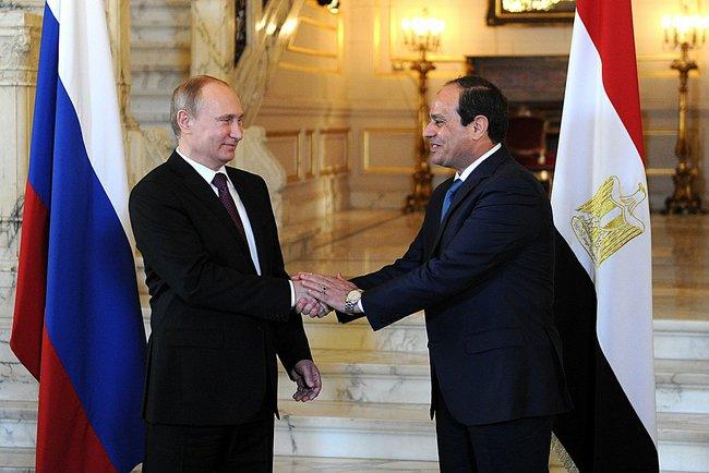 Réchauffement des relations entre l'Egypte et la Russie