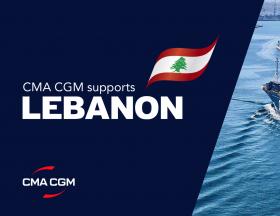 Marseille : Le groupe CMA-CGM lance l'opération « Un bateau pour le Liban «