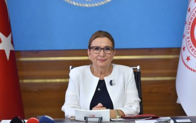 Ruhsar Pekcan, Turkish Minister of Commerce :