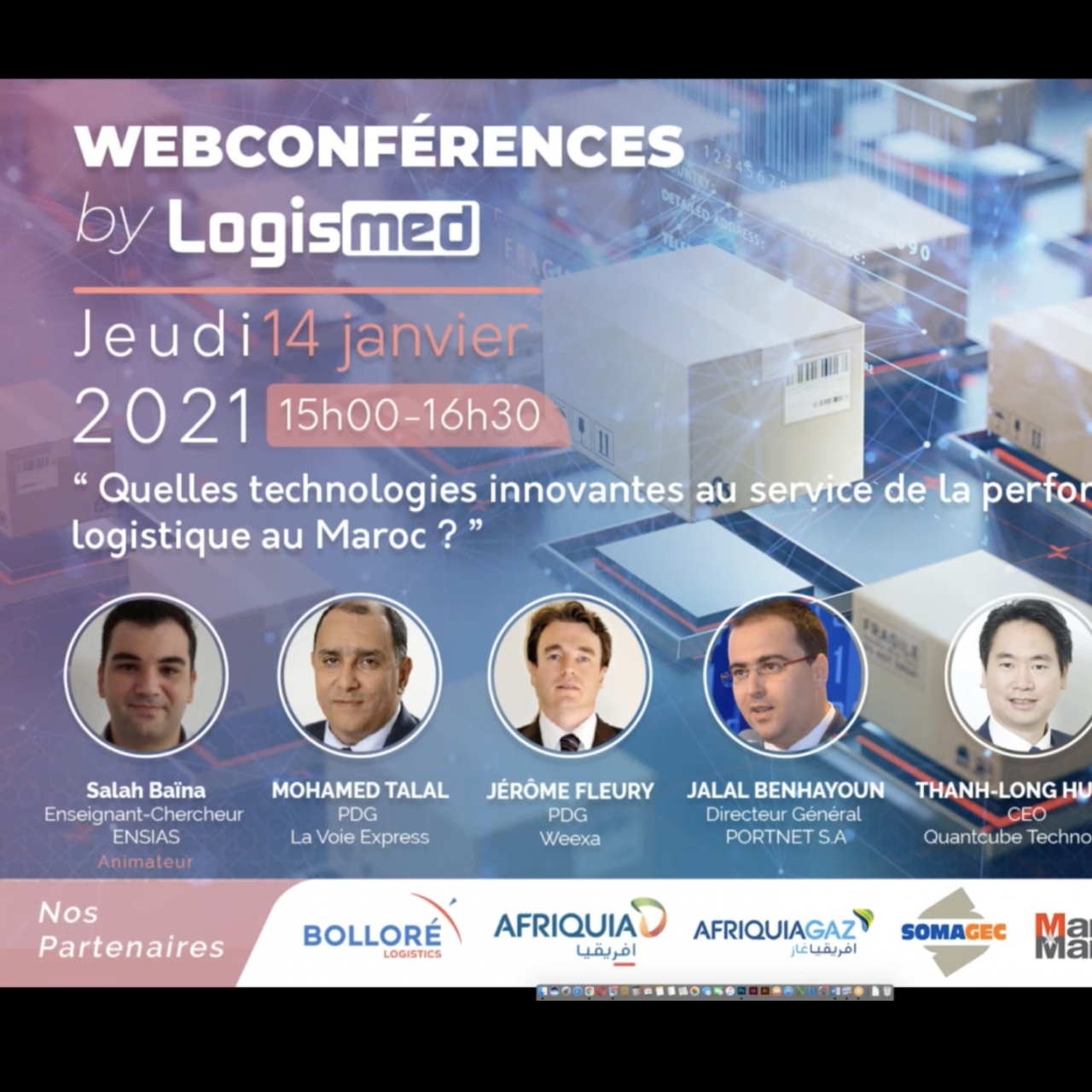 Maroc : La logistique pourrait encore gagner en compétitivité grâce au digital 1