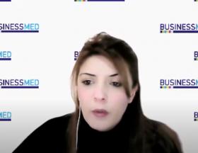 How does BUSINESSMED work for women's entrepreneurship in the Mediterranean?