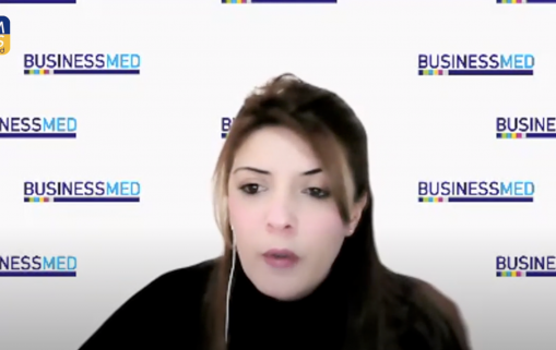 How does BUSINESSMED work for women's entrepreneurship in the Mediterranean?