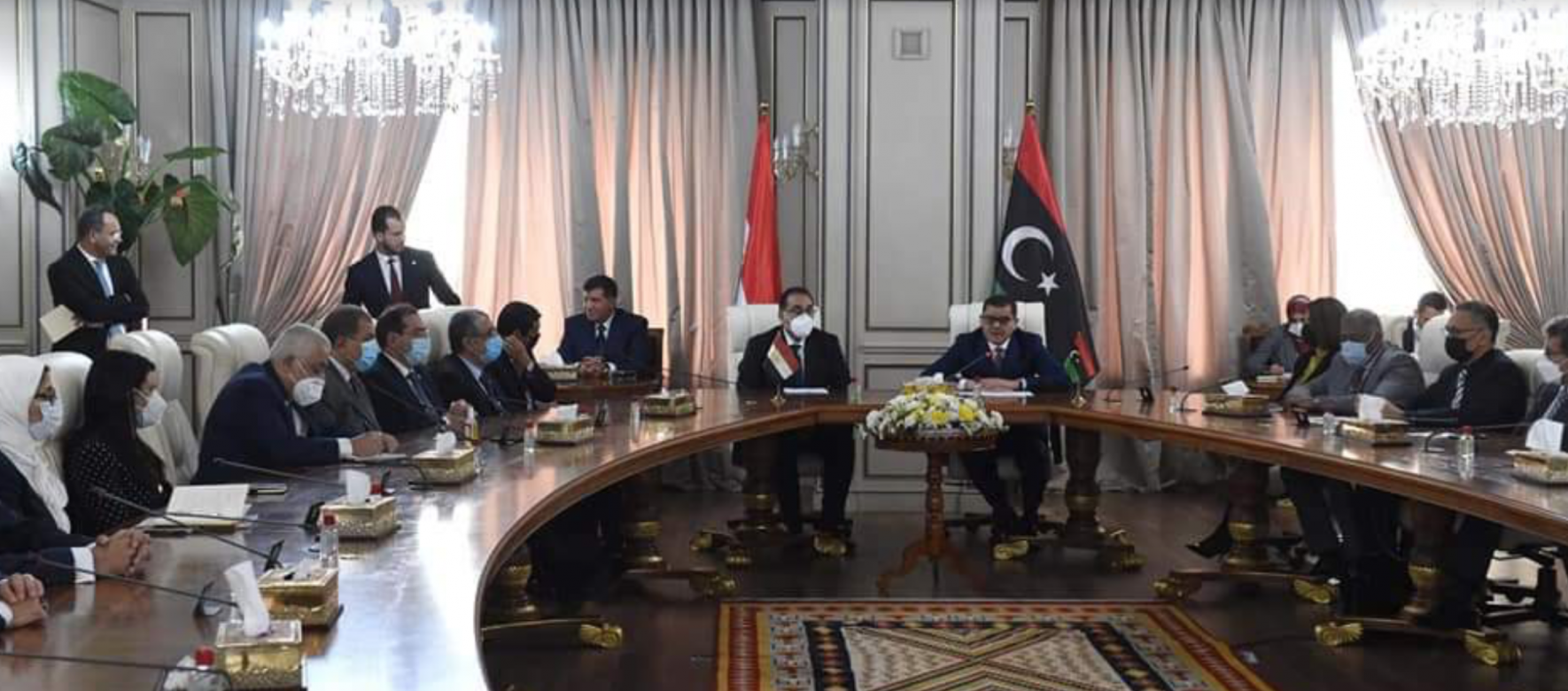 Egypt and Libya signed 11 memoranda of understanding to strengthen bilateral cooperation