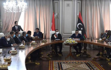 Egypt and Libya signed 11 memoranda of understanding to strengthen bilateral cooperation