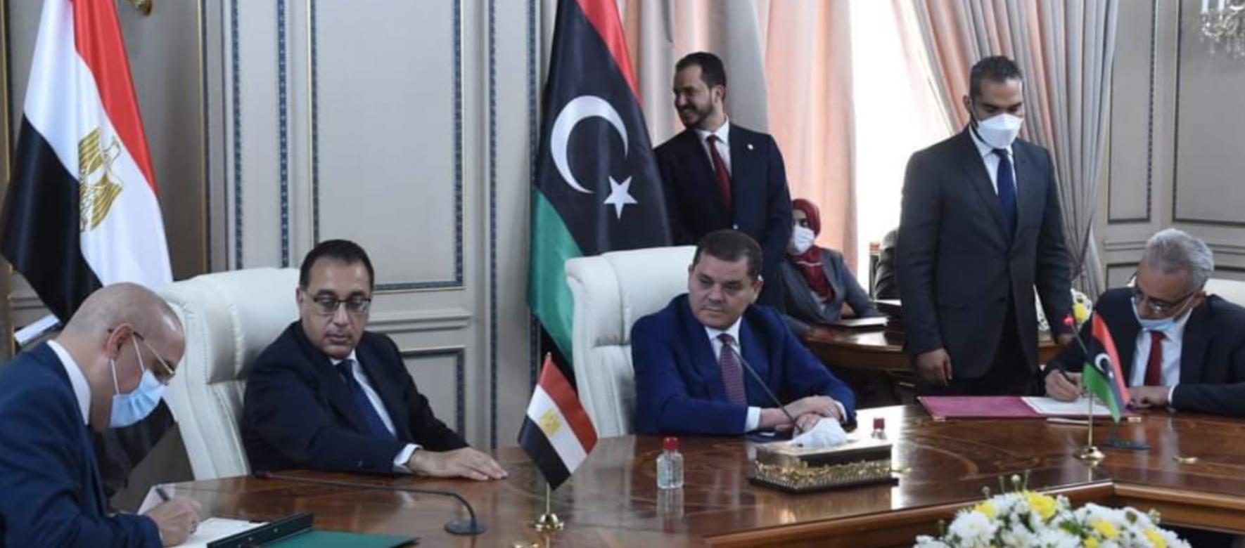 L'Egypte et la Libye ont signé 11 protocoles d'accord pour renforcer leur coopération bilatérale