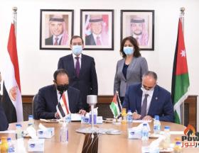 L'Égypte et la Jordanie viennent de signer un accord d'extension pour la fourniture de gaz naturel