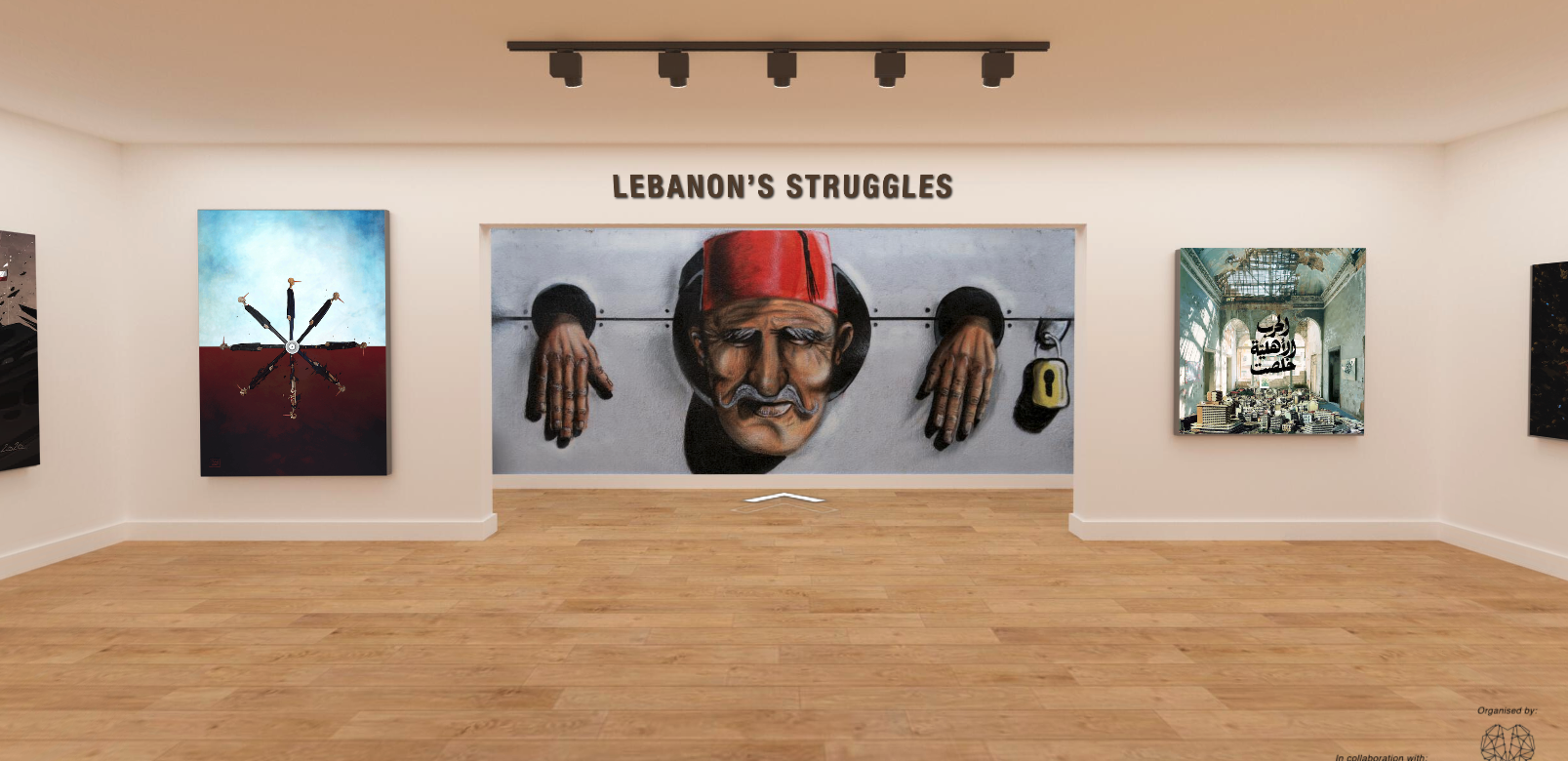 Echoes from Lebanon : A Collective Virtual Art Exhibition