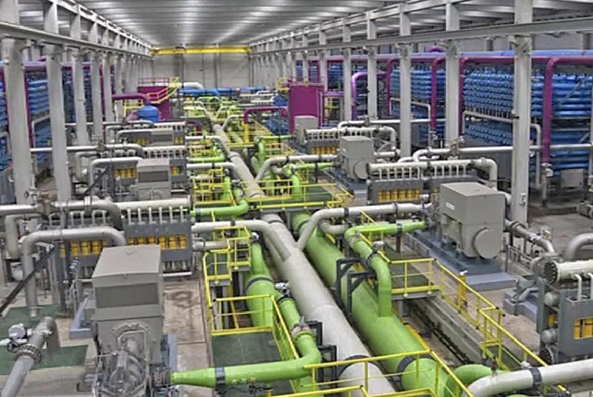 L'Egypte veut mobiliser grâce au secteur privé, 2,5 milliards $ afin de construire d'ici 2025, 17 d'unités de dessalement d'eau de mer