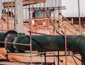 Egypte :  Le gouvernement a annoncé le lancement d'un projet de gazoduc dans le désert occidental, qui aura une capacité de transport de 15 millions de pieds cubes par jour 1