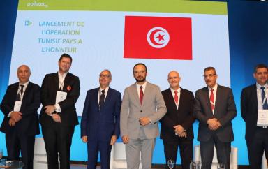 La Tunisie en visite à Lyon en France à la découverte de production d'énergie par méthanisation