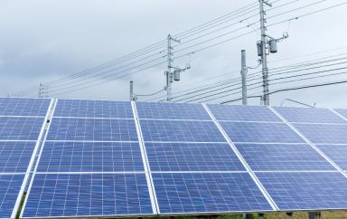 centrale electrique solaire