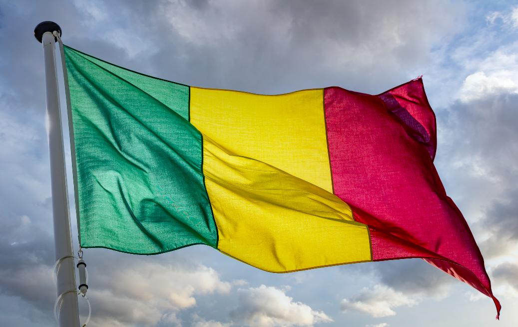 drapeau mali