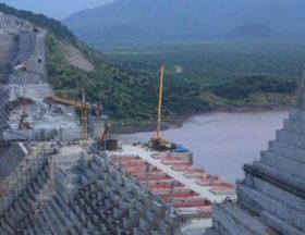 le barrage de la grande renaissance sur le nil en ethiopie le 26 septembre 2019 379149